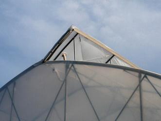 Egy oldali tetőszellőző